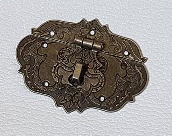 No.3 - Clasp 76mm bronze accessory box cardboard or box