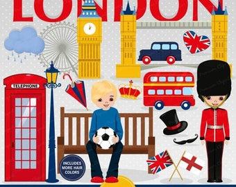 London clipart | Etsy | {Französische küche clipart 72}