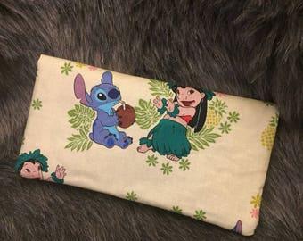 Lilo and stitch checkbook cover