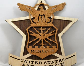 U. S. Air Force Wall Plaque