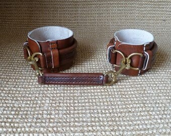 SCKLeather Handmade BDSM Cuff's for Wrist or Ankle