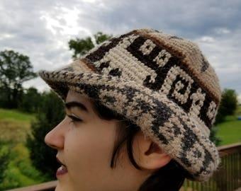 Wool Blend Knit Hat Men/Women Stylish