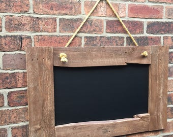 Wooden chalkboard rusttic menu chalkboard rustic wooden frame shabby chic