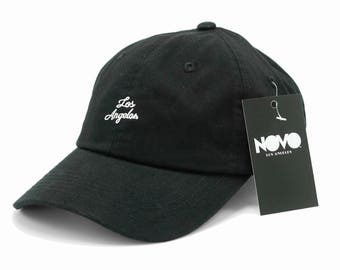 Los Angeles Cotton Embroidered Dad Hat by Novo Los Angeles