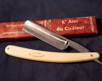 "Vintage Fontenille ""Ami du Coiffeur"" Straight Razor - 13/16 - Shave-Ready - Made in France"