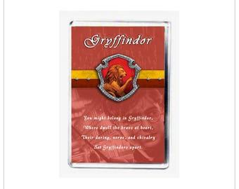 Gryffindor Fridge Magnet from Harry Potter - FREE UK PP