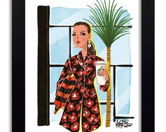 Proenza Schouler - Fashion Illustration Print Fashion Print Fashion Art Fashion Wall Art Fashion Poster Fashion Sketch Art Print