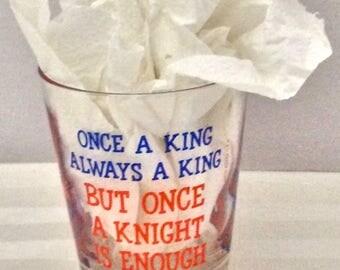 "1976 Naughty Barware ""Once a Knight"" C.M. Paula Co."