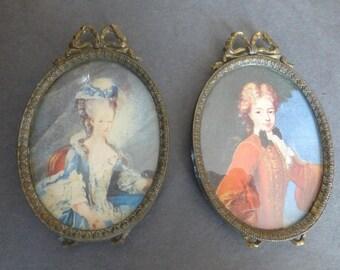 Pair of Baroque/Rococo Syle Gilt Frames