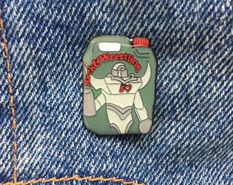 Rock&Wrestling Pin - Bento - soft enamel pin