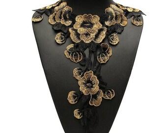 guipure floral lace 9 G