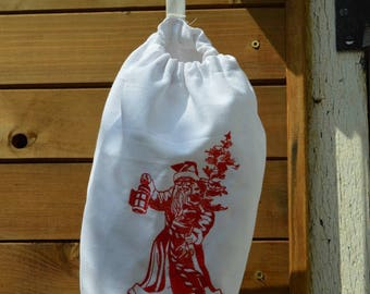 White Christmas bags bag