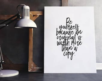Be Yourself | Copy Quote, Special Quote, Different Quote, Be Different Babe, Be Different, Wise Words, Words of Wisdom, Unique Quote