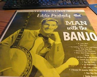 Eddie Peabody Man with the Banjo DOT DLP-110 1955