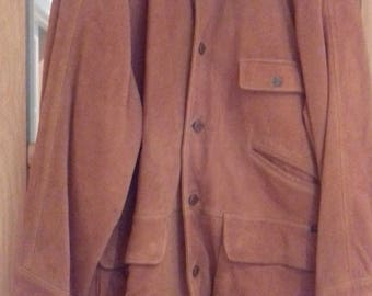 A Vintage Hunting Jacket From Gordon & Ferguson's 'Town and Country' Range - 100% Suede - Super Condition - Size: L