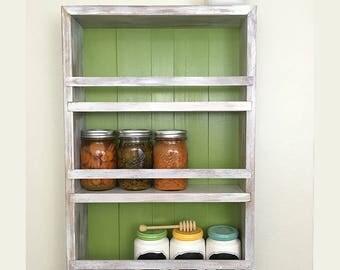 Essential Oil Shelf, Bathroom Cabinet, Rustic Wall Decor, Wall Cabinet, Bathroom Wall Cabinet, Apothecary Jar, Cabinet, Essential oil shelf