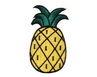 Pineapple Fruit DIY Applique Iron on Patch
