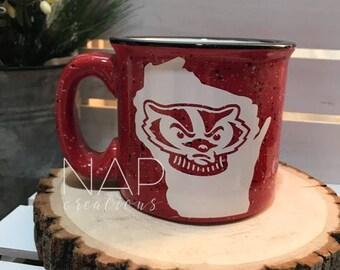 WI || Campfire Mug || 15 ounce || Coffee Mug