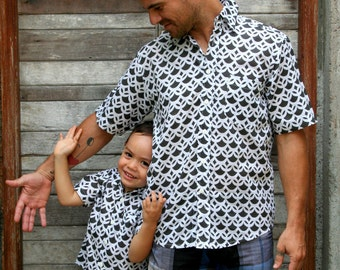Father son matching shirts,Dad son Outfit,father son t-shirt,father partnerlook,father son outfit,dad son matching shirts,fathers day gift