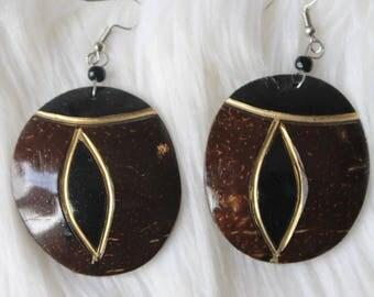 East African Style Earrings