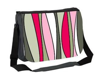 pink messenger bag, canvas messenger bag, canvas laptop bag, green messenger bag, messenger bag women, laptop bag, cute laptop bag