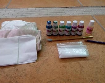 Used Silk Painting Starter kit Coulee