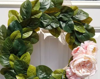 Floral wreath, spring wreath, summer wreath