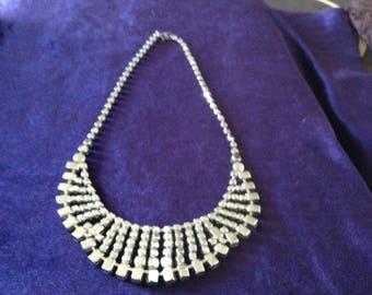 Vintage Diamante Necllace