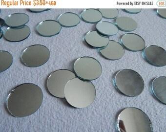 10% OFF Round Mirrors, Craft Mirrors, 20mm Mirrors, Mirror Embellishments, Glass Mirrors