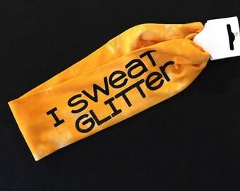 I Sweat Glitter Headband