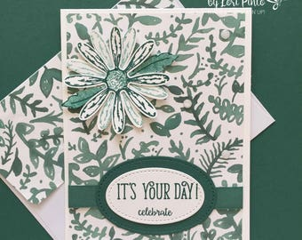 Handmade Special Day Card, Celebrate Card