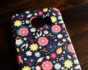 Boho Floral Phone Case | Fits the Samsung Galaxy S6