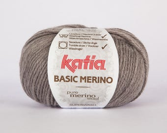 Katia Basic 13 color Merino Wool.