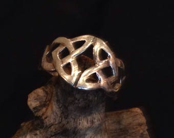Sterling Silver Celtic Band