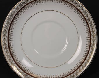 """Harmony House Saucer in the """"Firelight"""" Pattern.    (CGP-2344)"""