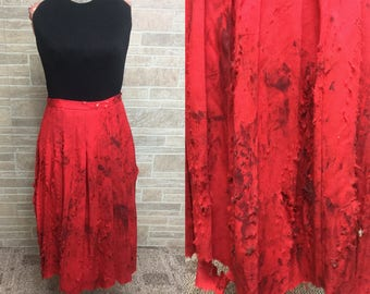 Womens vintage Size 4 Zombie Skirt