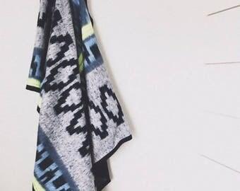 Brushed Indian design Blanket