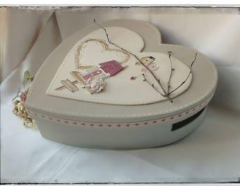 """Box wedding urn """"Couple"""""""