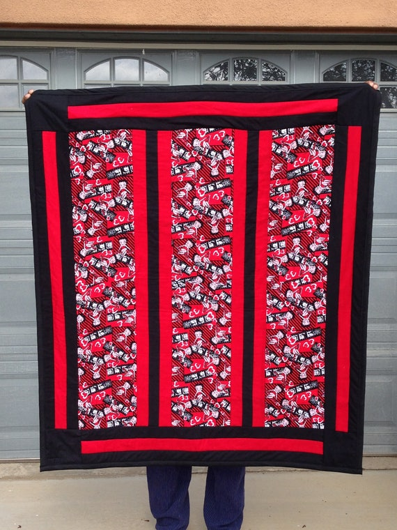 Betty Boop Lounge Quilt