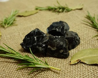 Cleansed Rough Obsidian