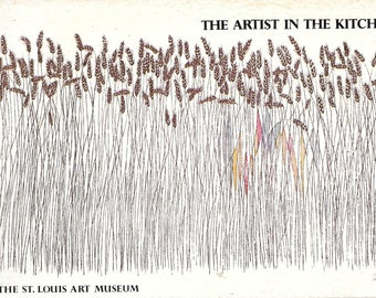 The Artist In The Kitchen By the St. Louis Art Museum 1977 Spiral Bound Paperback