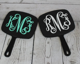 Personalized Hand Held Mirror-Christmas Gift for Hair Stylist-Beautician-Girls Spa Day Gift Idea-Sorority Sister