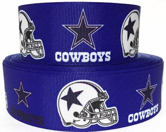 Dallas Cowboy  (1.5 Width) Dog Collar - Side Release Buckle (Martingale Option Available)