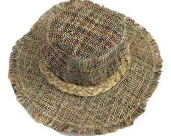 Eco Friendly Pure Hemp Sun Hat