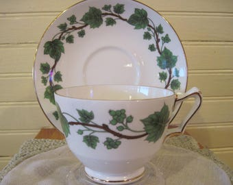 Crown Staffordshire Bone China Tea Cup - Item #1440