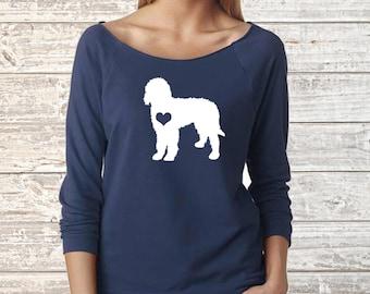 LABRADOODLE Dog Next Level Long Sleeve Shirt