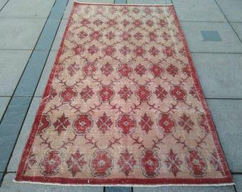 230 x 130 Cm / 7'5'' x 4'3''feet Anatolian Rug,Handmade Boho Area Rug,Vintage Turkish Kilim Rugs, Area Rugs,Bohemian Rug, Decor Kilim Rug