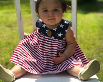 12-18 month Fourth of July dress Ready to ship