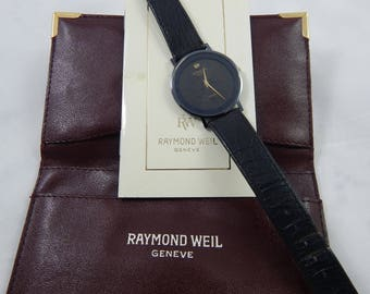 Vintage Raymond Weil Swiss Watch Quartz