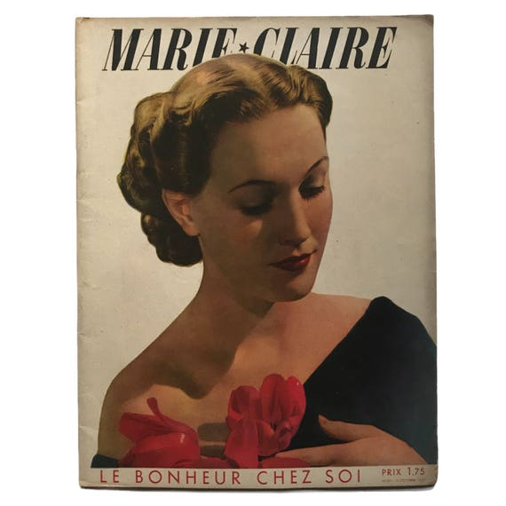 Marie Claire Paris, October 15, 1937.